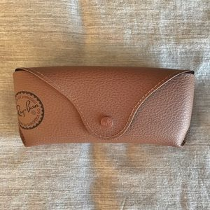 Ray Ban Authentic Empty Brown Sunglasses Case